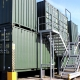 Urban Space: container storage in a range of sizes and placements