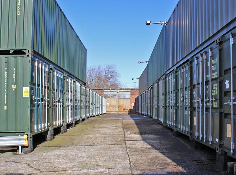 Urban Space Self Storage Liverpool: drive through container storage
