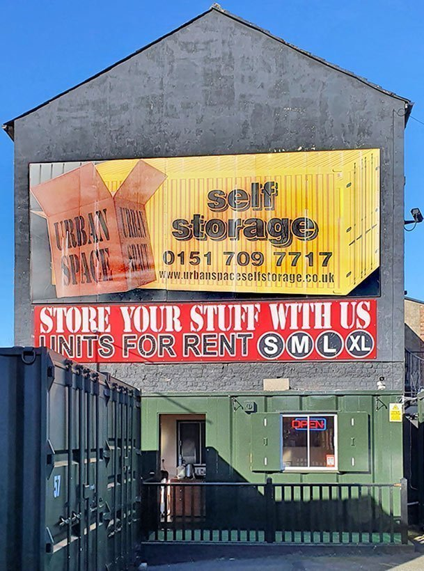 Urban Space Liverpool: storage for all your stuff